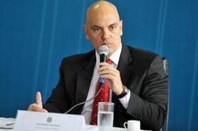 Alexandre de Moraes, ministro do Supremo, assume vaga efetiva no TSE