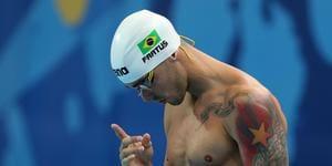 Bruno Fratus atinge índice olímpico e fica perto de garantir vaga em Tóquio
