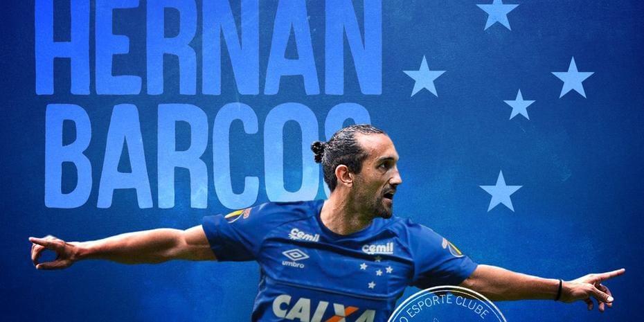 Cruzeiro oficializa a contratação do atacante argentino Hernán ... 020023901887e