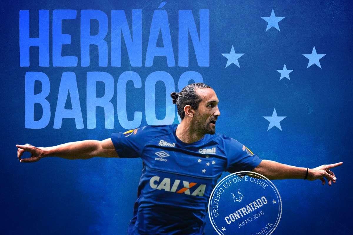 2d62b4bd8e Cruzeiro oficializa a contratação do atacante argentino Hernán ...