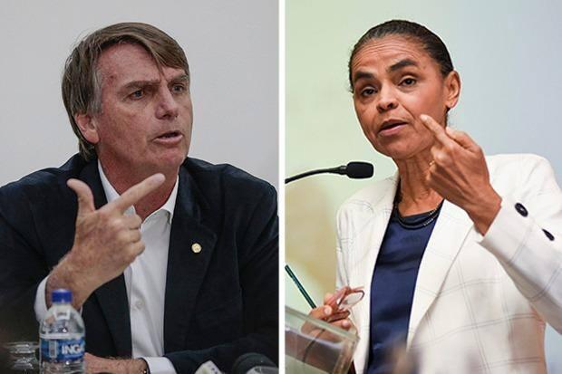 Bolsonaro e Marina
