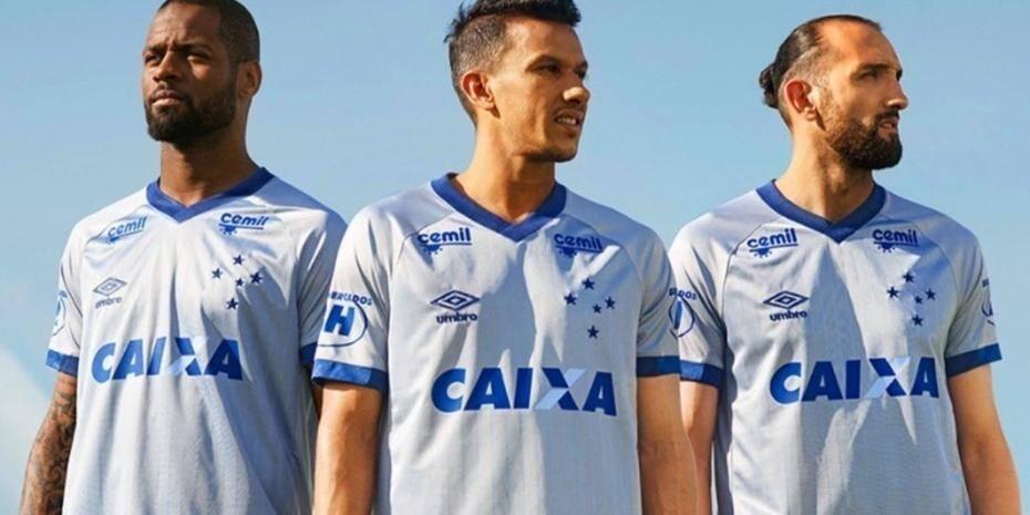 5b9b03b687 Confira os preços e onde comprar a nova camisa do Cruzeiro