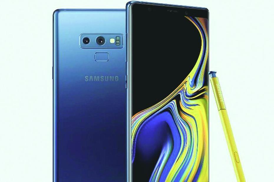 99761c149 Samsung apresenta Galaxy Note 9 com mais memória