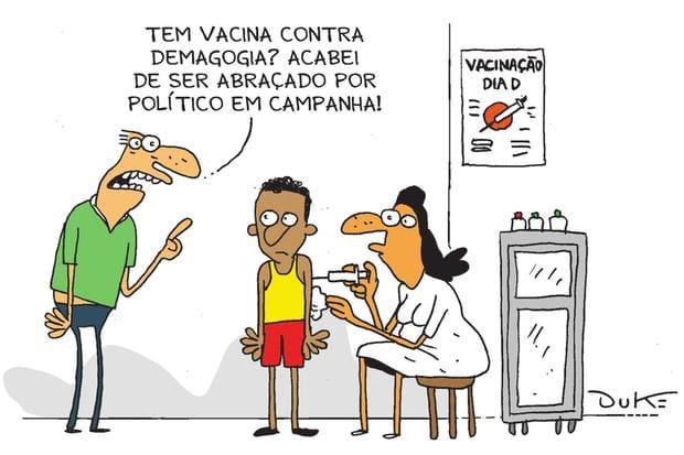 Charge O Tempo, 19/08/2018