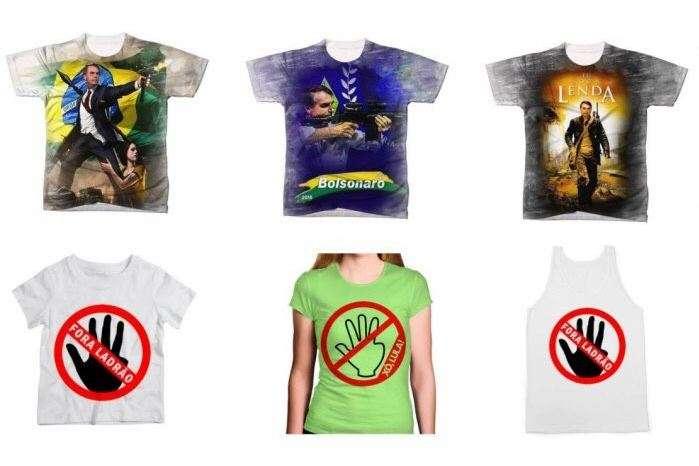 6e6dbc2c27c8c Lojas Americanas retiram camisetas pró-Bolsonaro e anti-Lula das ...