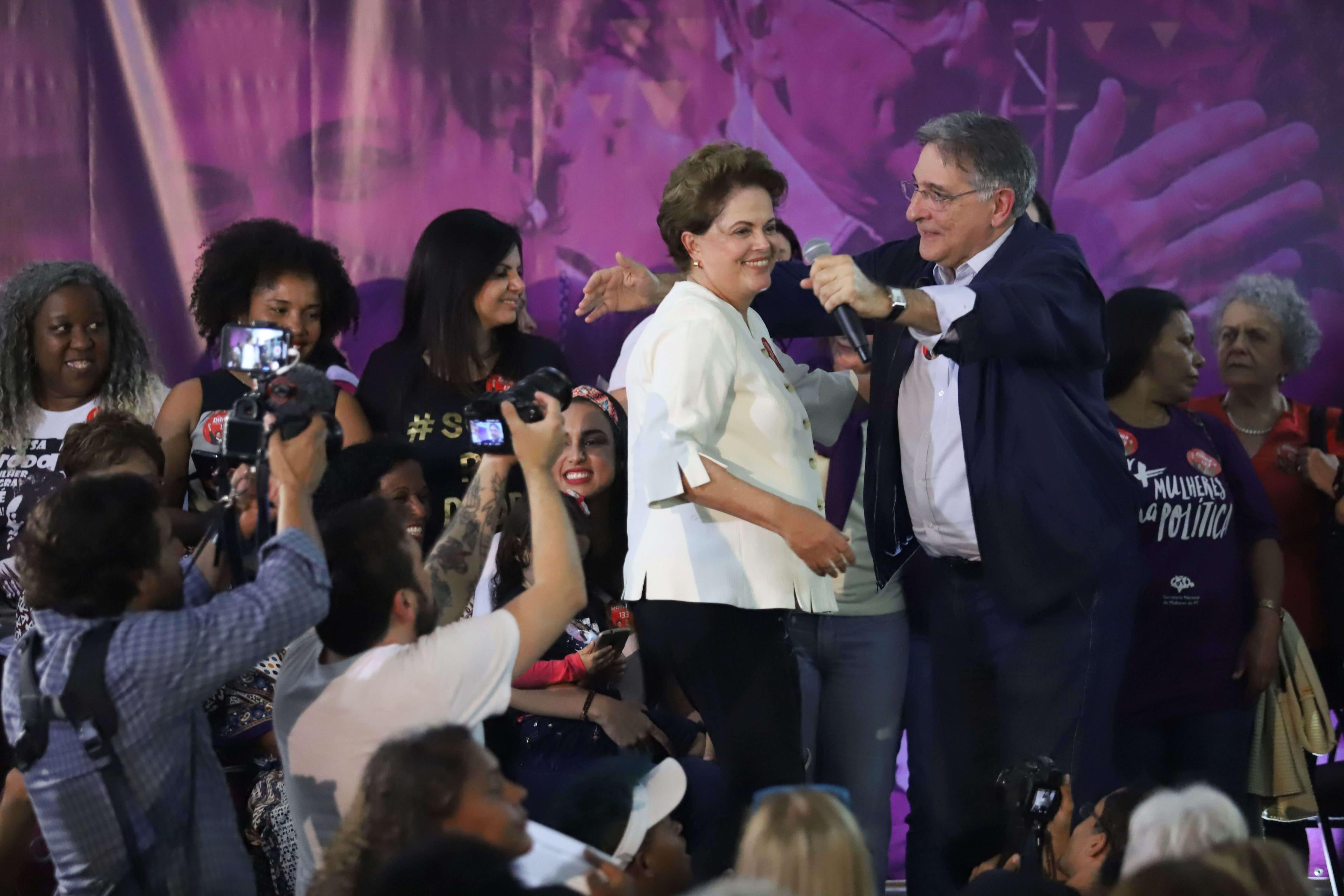 Dilma e Pimentel