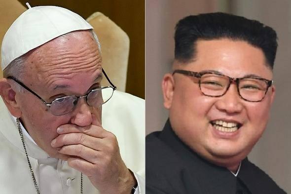 Papa Francisco foi convidado por Kim Jong Un a visitar a Coreia do Norte