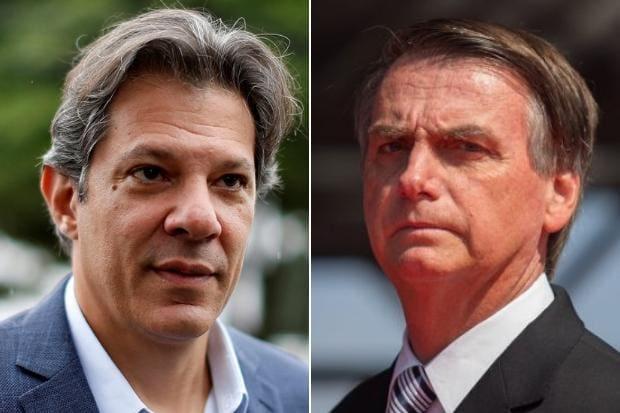 Bolsonaro disputa o segundo turno com Haddad