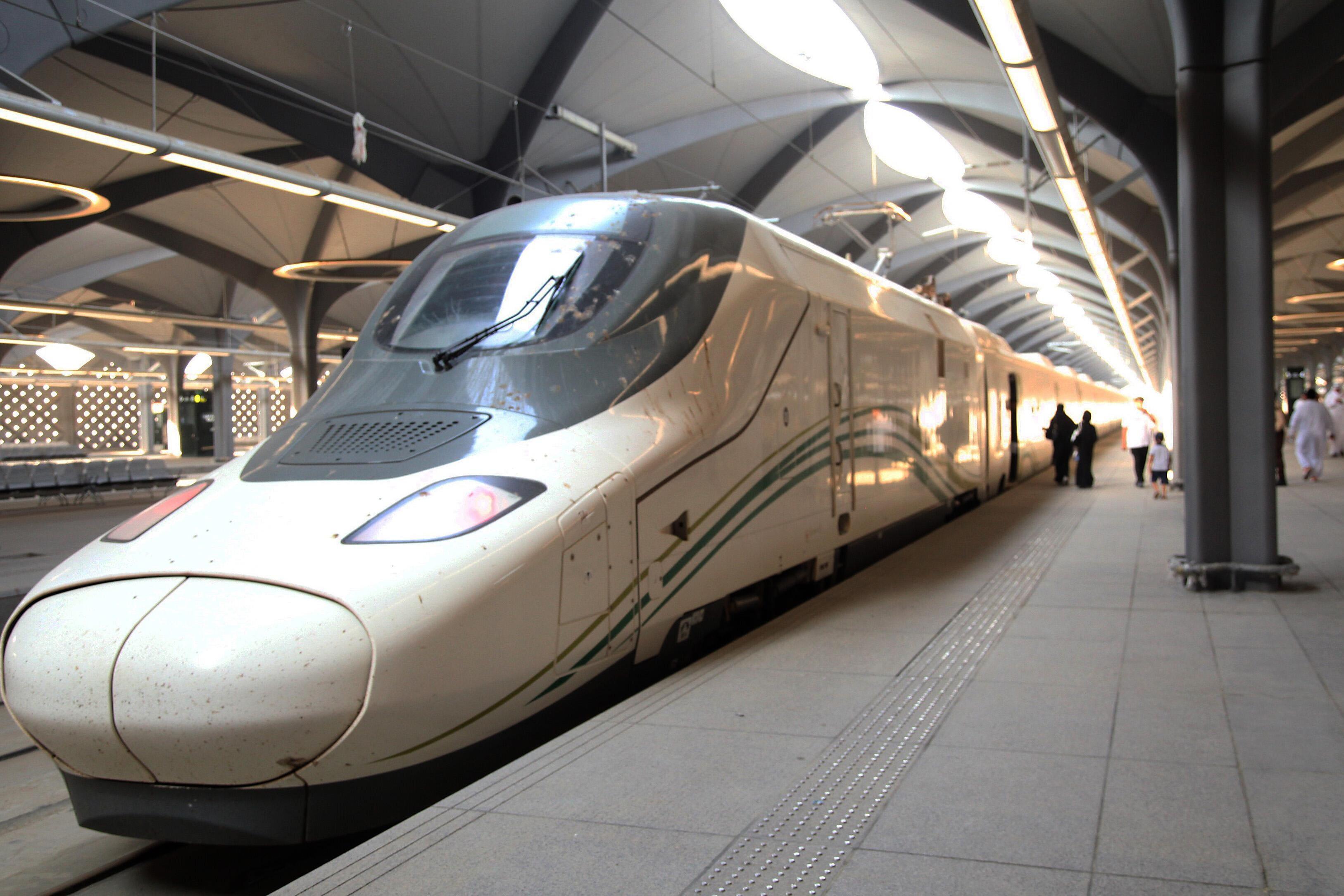 Trem de alta velocidade atinge velocidades de mais de 300 km/h