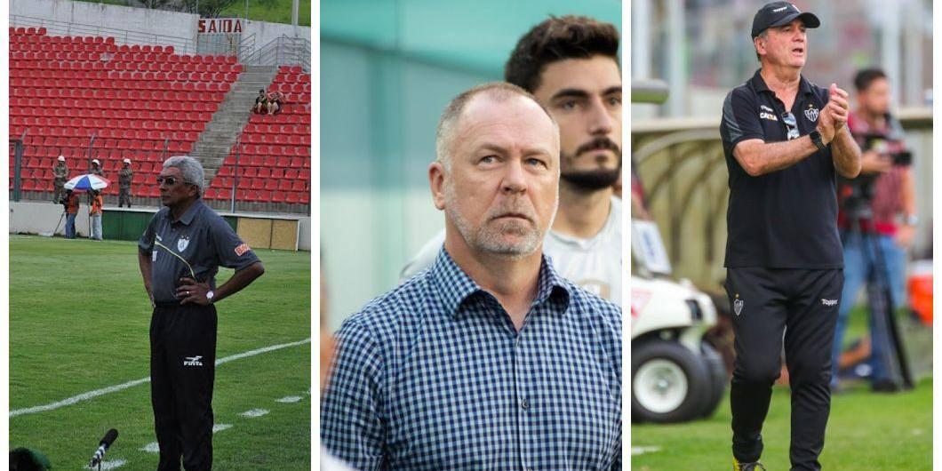técnicos Atlético Cruzeiro e América
