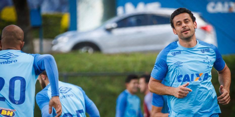 Fred deixou o Atlético no fim do ano passado e depois acertou sua transferência para o Cruzeiro
