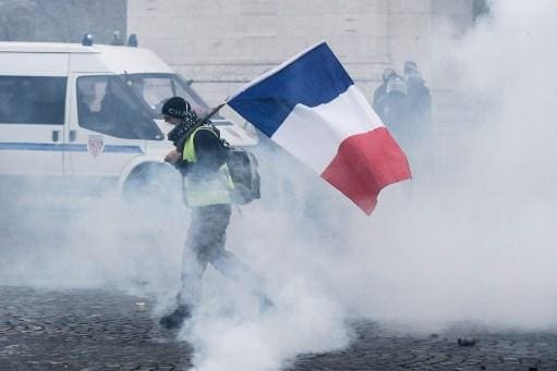 Protestos Paris