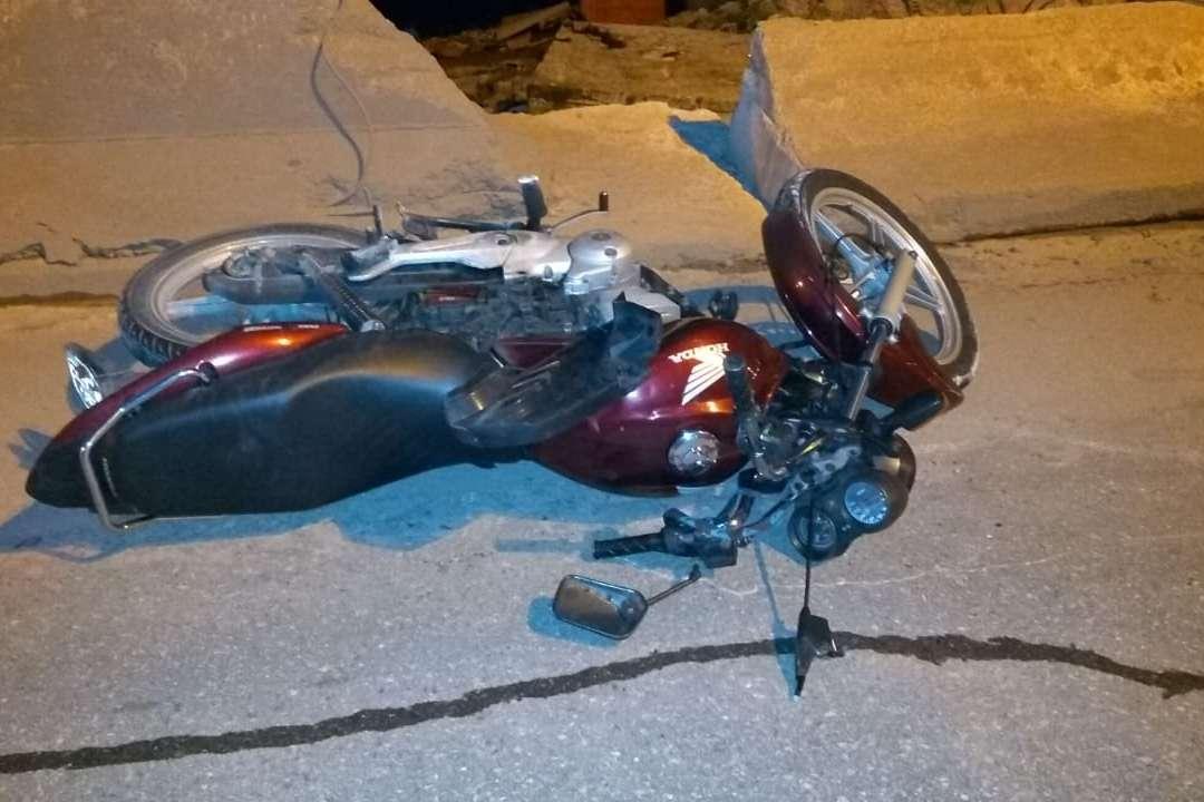 Motociclista morreu na hora