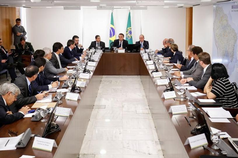 Bolsonaro reuniu ministros pela segunda vez desde que foi empossado