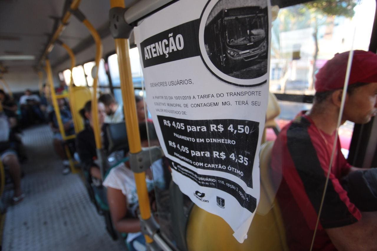Passagem ônibus