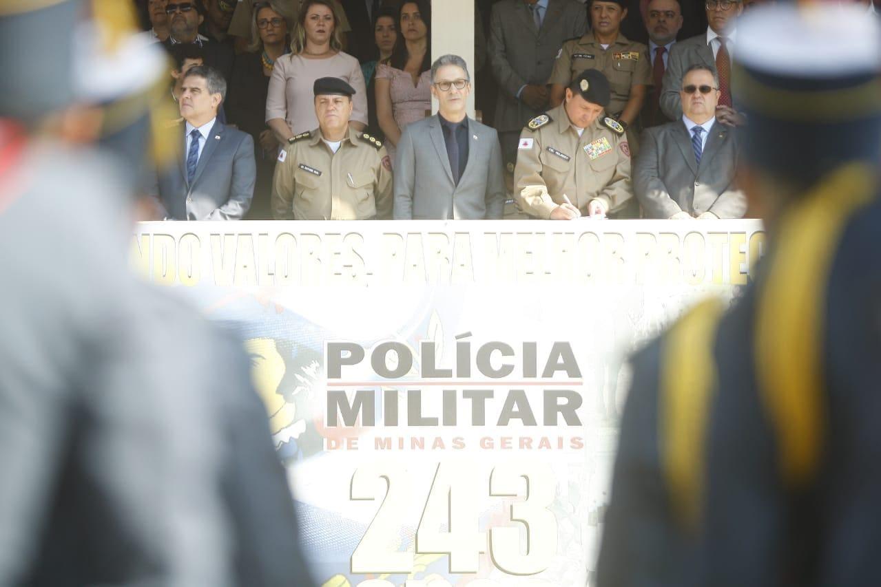 PM cerimônia