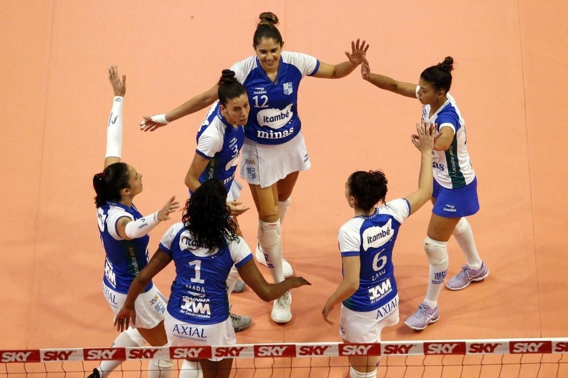 Saiba como ficaram os confrontos das quartas de final da Superliga Feminina