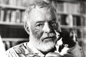 Hemingway: libertador do bar