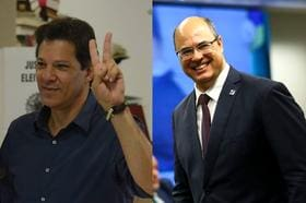 Haddad fala em impeachment de Witzel e o acusa de ser 'assassino'