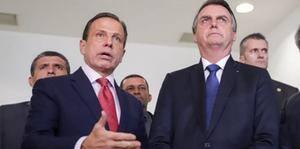 Para 46%, Doria fez mais contra pandemia que Bolsonaro, diz pesquisa
