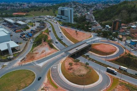 Duplicação de viaduto em Betim na Via Expressa é inaugurada - O Tempo