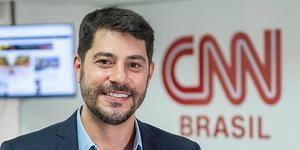 Evaristo estreia na grade da CNN, mas fica atrás no Ibope da GloboNews