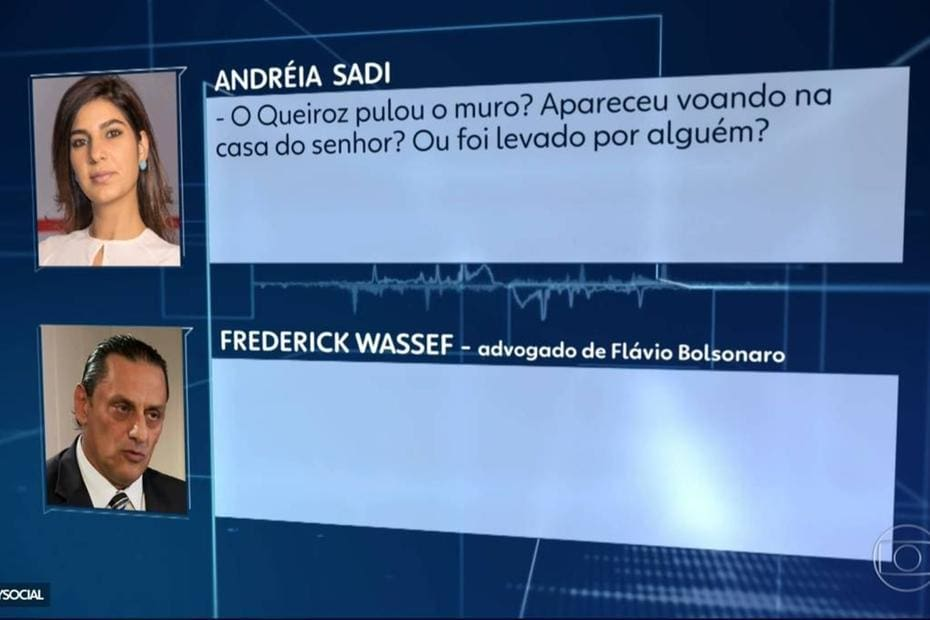 Entrevista de Wassef para Andréia Sadi virou um dos assuntos mais comentados da internet