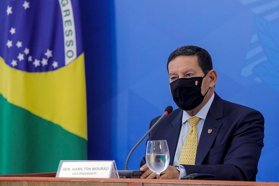 BRAZIL-HEALTH-VIRUS-MOURAO