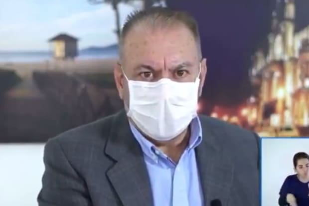 Prefeito de Itajaí libera tratamento de ozônio no ânus contra a Covid-19 – O Tempo