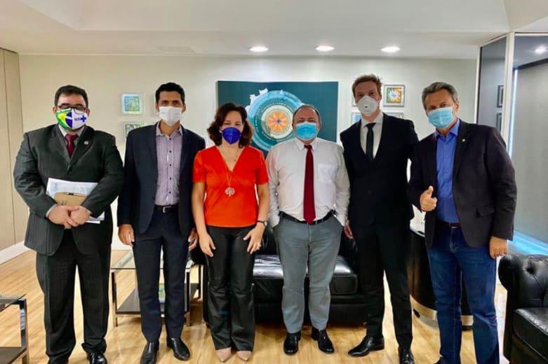 Ozonioterapia retal contra a Covid-19 - Reunião com o Ministro da Saúde, Eduardo Pazuello