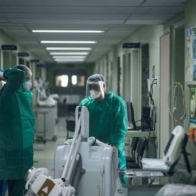 Fotos do CTI de Isolamento Respiratório da Santa Casa de Belo Horizonte