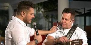 Bruno critica Marrone em live e internautas condenam atitude do cantor; assista