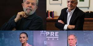 Sem presidente Bolsonaro, campanha terá presença de Lula, Ciro, Marina e FHC