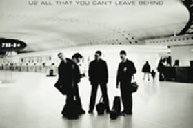 U2 celebra 20º aniversário do álbum 'All That You Can't Leave Behind'