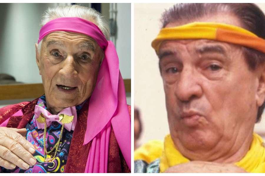 """Aos 101 anos Orlando Drummond fez uma participação na nova """"Escolinha"""" como Seu Peru, personagem que despontou em 1990 no programa original"""