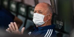 Felipão diz que problema do Cruzeiro é mais sério do que ele imaginava
