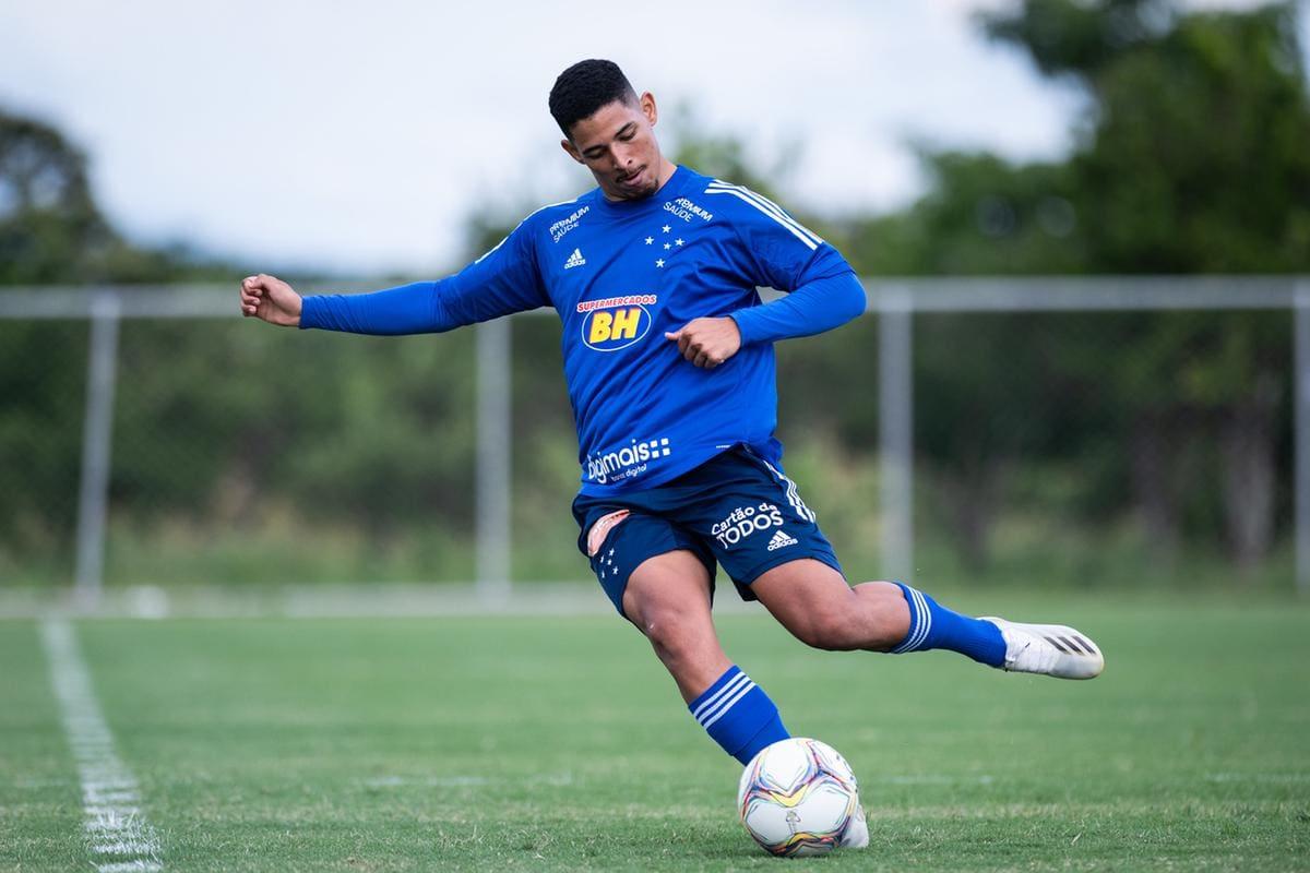 Zé Eduardo segue em repouso após novos exames — Foto: Bruno Haddad/Cruzeiro