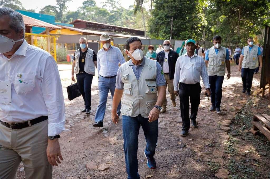 Hamilton Mourão cumpre agendas ambientais no Pará