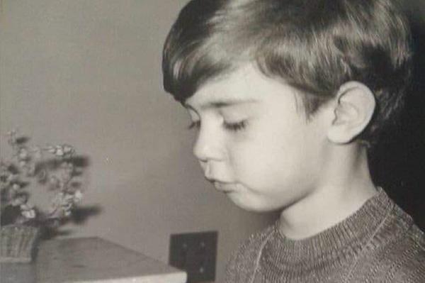 Marcelo Freixo (PSB), deputado federal, em foto quando criança