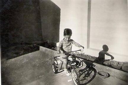 Romeu Zema (Novo), governador de Minas Gerais, em foto quando criança