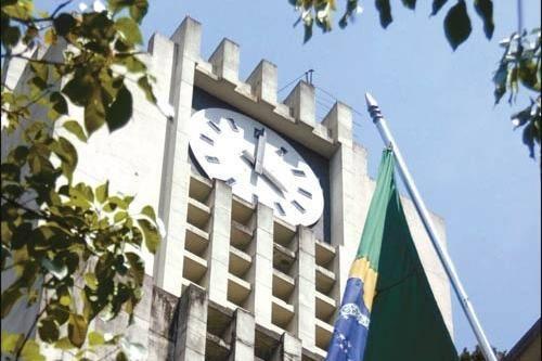 Detalhe da fachada da sede da Prefeitura de Belo Horizonte, no centro. Prédio terá um novo ocupante a partir de janeiro do próximo ano