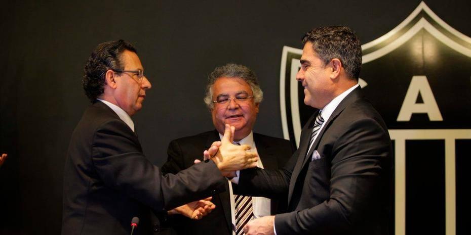 Esportes - Belo Horizonte, Mg. Clube Atletico Mineiro . Sergio Sette Camara e eleito presidente do Atletico .  Fotos: Leo Fontes / O Tempo - 11.12.17