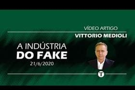 A indústria do fake