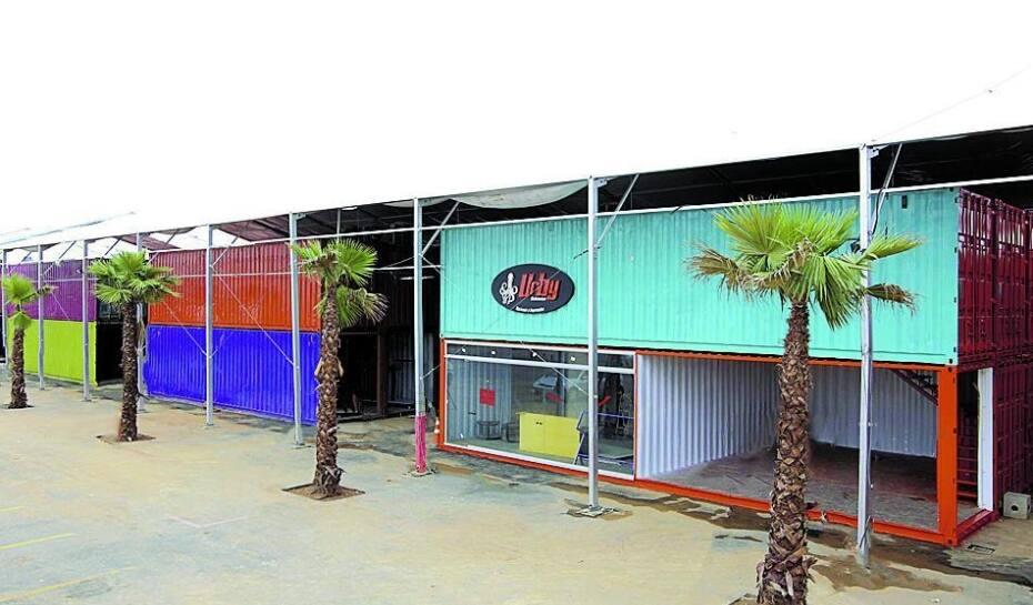 3ef344237af Só Marcas Outlet abre mall com lojas feitas de contêineres