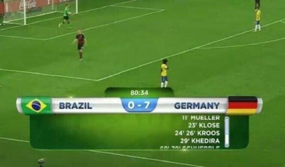 55fd98d3eb Brasil 1 x 7 Alemanha – O maior vexame