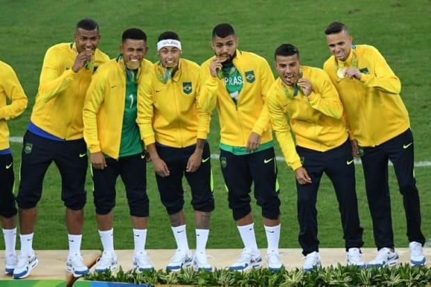 O histórico da seleção brasileira nas Olimpíadas até alcançar o ouro ... 664684985c5bb