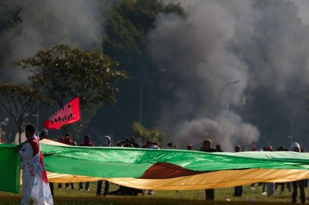 1,5 mil profissionais atuarão no esquema de segurança da marcha — Ocupa Brasília