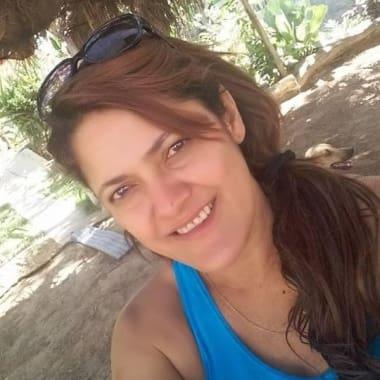 Heley Abreu é uma das vítimas de ataque em creche de Janaúba