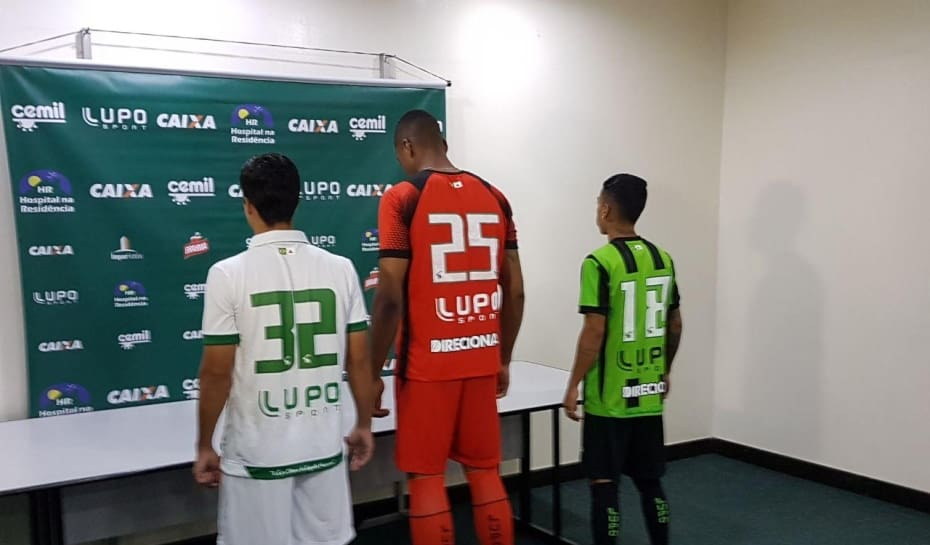 3434fdce7d América divulga novo uniforme para a temporada 2018
