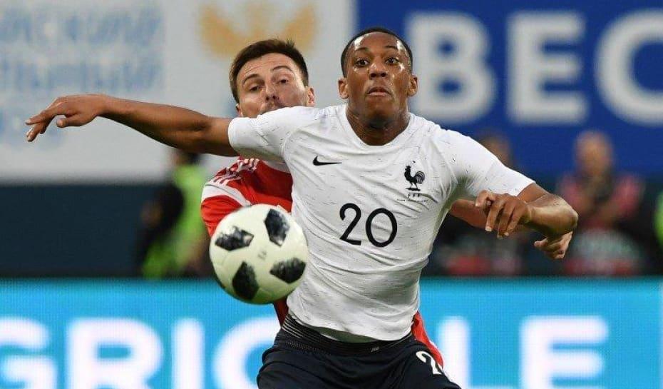 a747631dc5 Mbappé marca dois e França bate a Rússia em amistoso preparatório ...